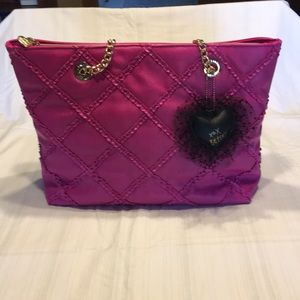 Betsey Johnson - Pink With gold hardware. Like New
